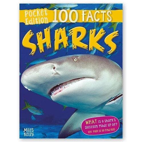 100 Facts: Sharks by Steve Parker