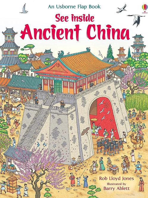 Usborne See Inside Ancient China by Rob Lloyd Jones & Barry Ablett