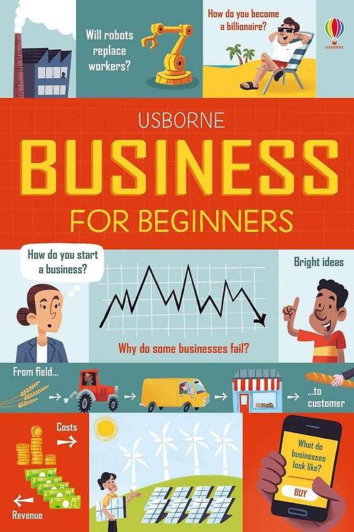 Usborne Business for Beginners by Lara Bryan
