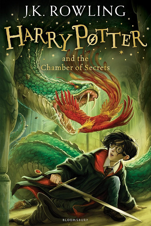 Harry Potter & the Chamber of Secrets by JK Rowling