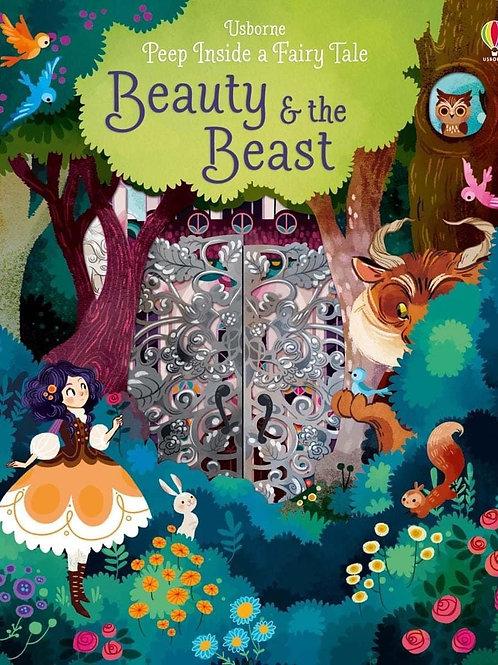 Usborne Peep Inside a Fairy Tale: Beauty & the Beast