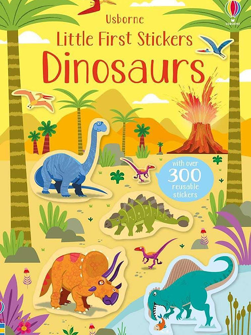 Usborne Little First Stickers: Dinosaurs by Kirsteen Robson & Paul Nicholls