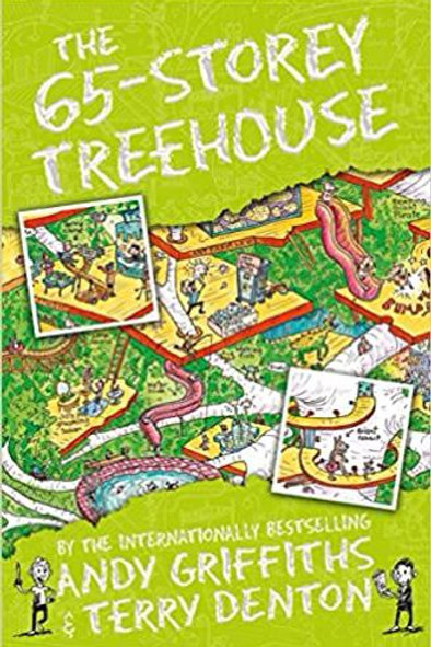 The 65 Storey Treehouse by Andy Griffiths & Terry Denton