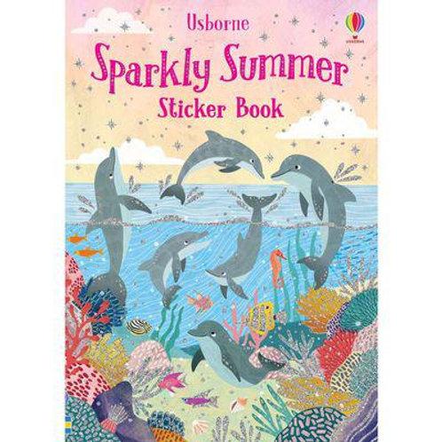 Usborne Sparkly Summer Sticker Book by Fiona Patchett & Jean Claude