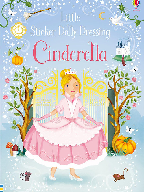 Usborne Sticker Dolly Dressing: Cinderella by Fiona Watt & Elizabeth Savanella