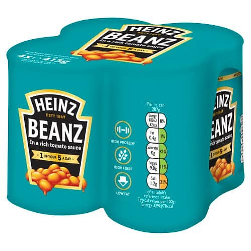 Heinz Baked Beans 4 x 415g