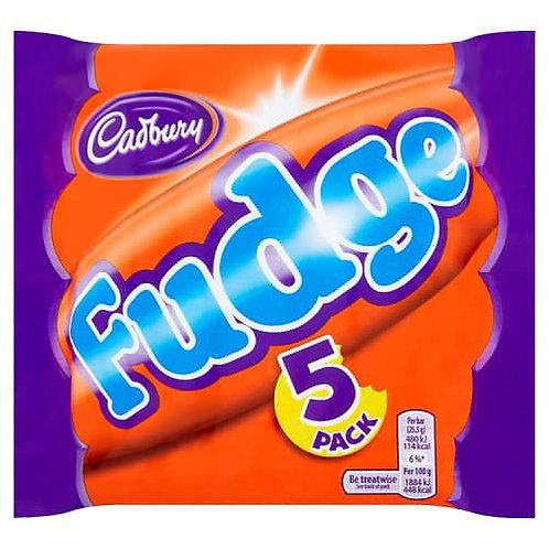 Cadburys Fudge 5 Pack 120g