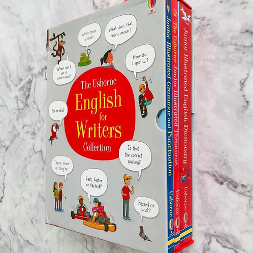 The Usborne English for Writers Collection Box Set