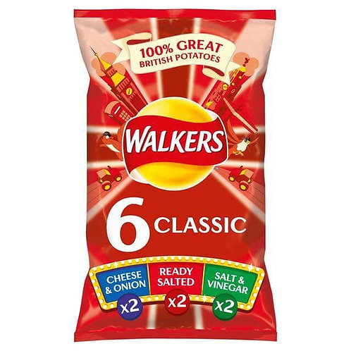 Walkers Classic 6 Pack