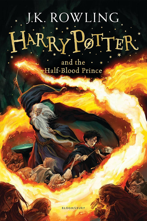 Harry Potter & the Half-Blood Prince by JK Rowling