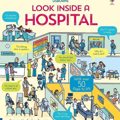Usborne Look Inside a Hospital by Katie Daynes, Dr Zoe Fritz et al