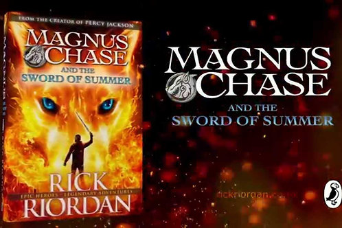 Magnus Chase & The Sword of Summer by Rick Riordan