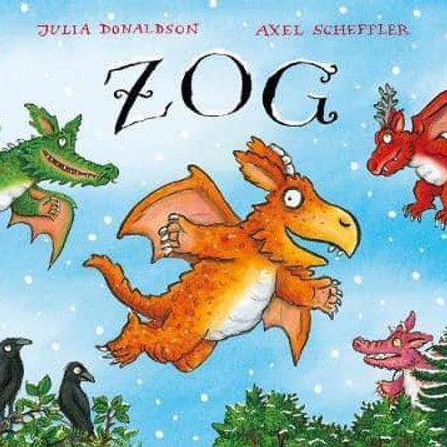 Zog by Julia Donaldson & Axel Scheffler