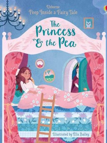 Usborne Peep Inside a Fairy Tale: The Princess & the Pea