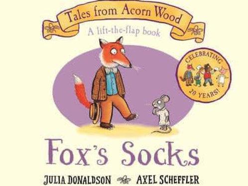Tales from Acorn Wood: Fox's Socks by Julia Donaldson & Axel Scheffler
