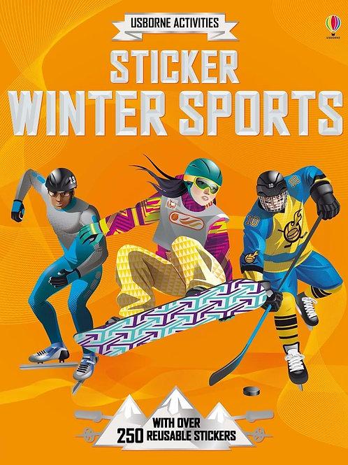 Usborne Activities: Sticker Winter Sports by Jonathan Melmoth