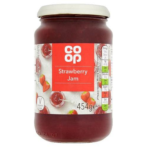Coop Strawberry Jam