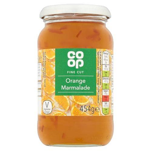 Coop Fine Cut Orange Marmalade 454g