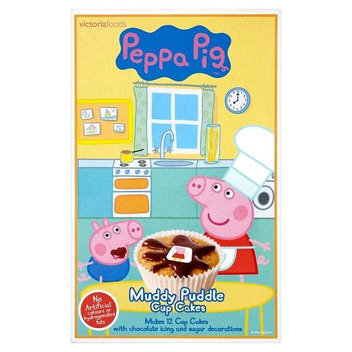 Peppa Pig Muddy Puddle Cup Cake Mix 195g