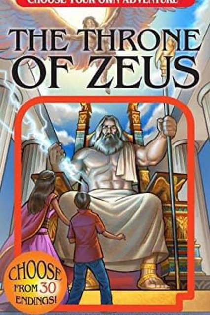 Choose Your Own Adventure: The Throne of Zeus by Deborah Lerme Goodmane