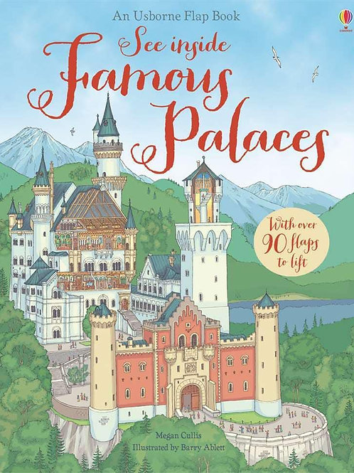 Usborne See Inside Famous Palaces by Megan Cullis & Barry Ablett
