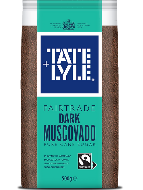 Tate & Lyle Fairtrade Dark Muscovado Sugar