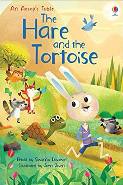 The Hare & The Tortoise by Susanna Davidson