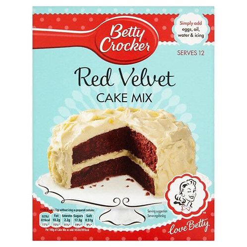 Betty Crockers Red Velvet Cake Mix 425g