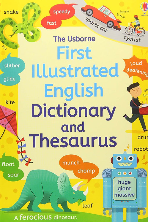 The Usborne First Illustrated English Dictionary & Thesaurus by Jane Bingham