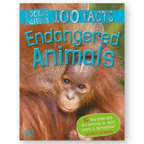 100 Facts: Endangered Animals by Steve Parker