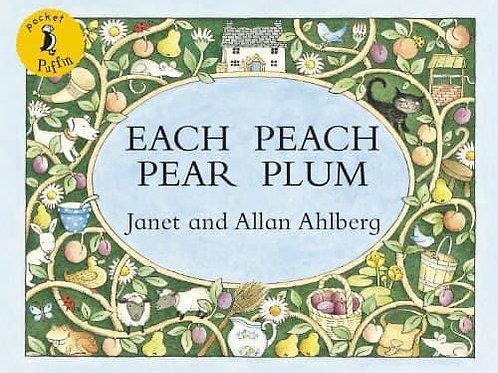 Each Peach Pear Plum by Janet & Alan Ahlberg