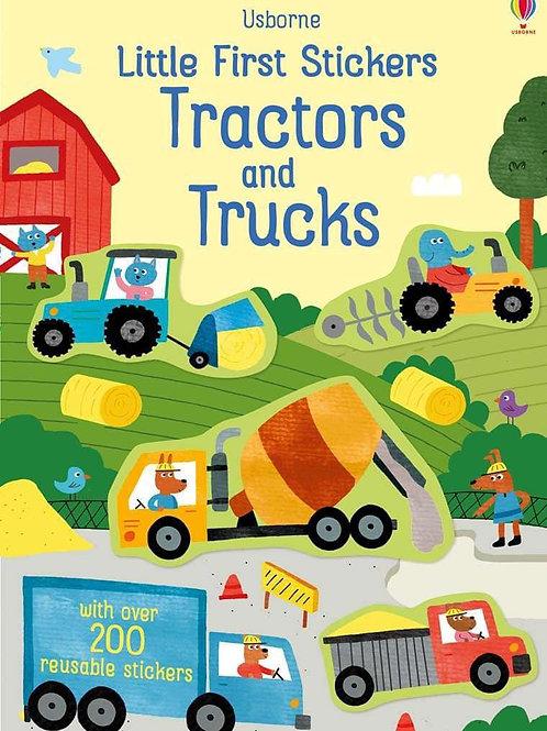 Usborne Little First Stickers: Tractors & Trucks by Hannah Watson