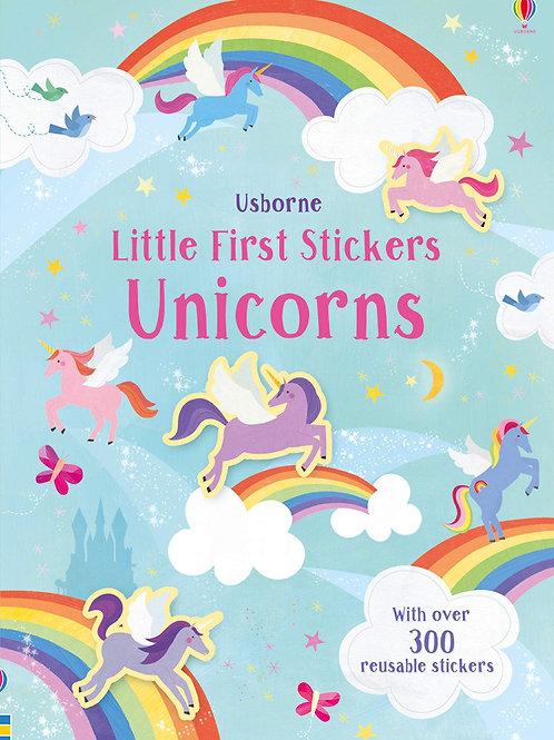 Usborne Little First Stickers: Unicorns by Hannah Watson & Melanie Mikecz
