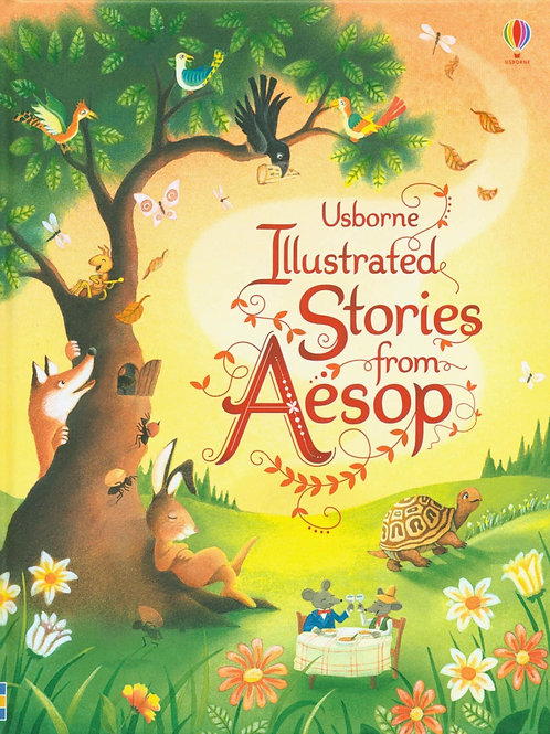 Usborne Illustrated Stories from Aesop by Susanna Davidson