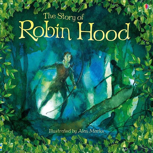 Usborne Picture Books: Robin Hood by Rob Lloyd Jones & Alan Marks