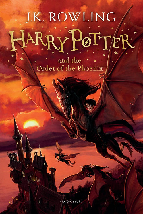 Harry Potter & the order of the Phoenix by JK Rowling