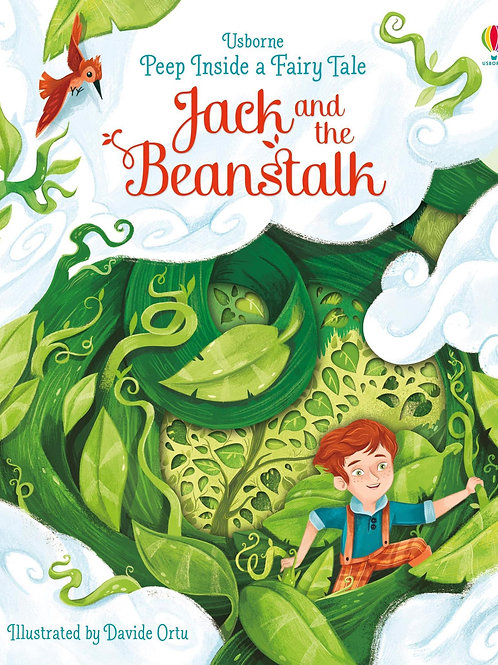 Usborne Peep Inside A Fairy Tale: Jack & The Beanstalk