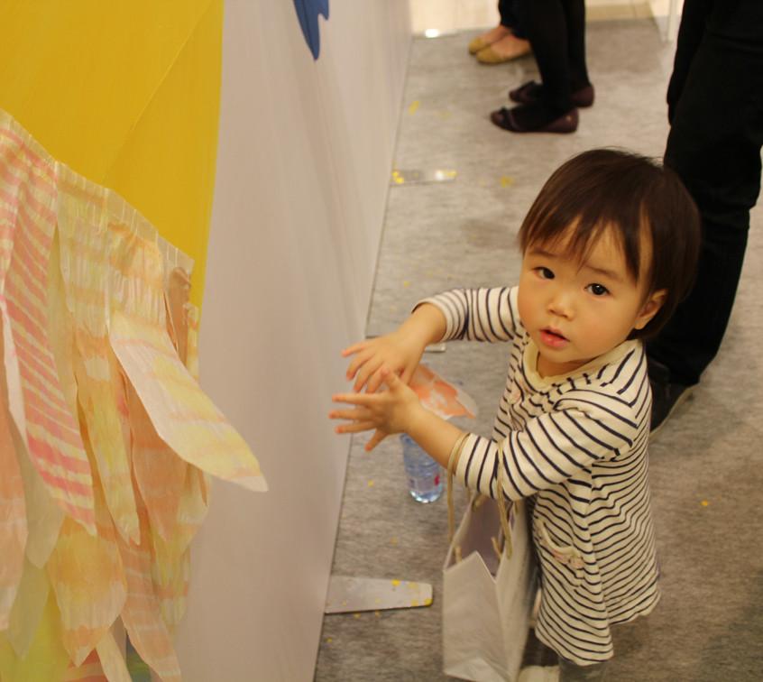 1歳の女の子も参加