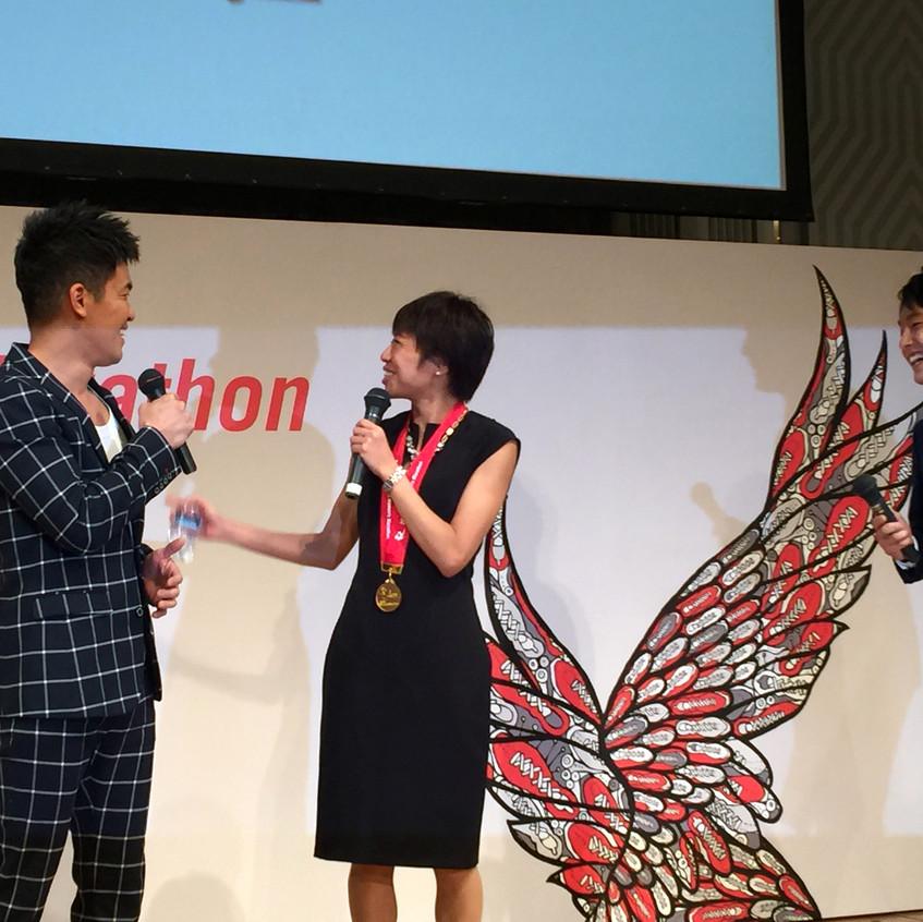 2016マラソンの女神、福士加代子さん