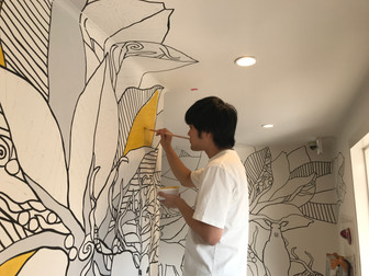 Junichi art Project in Osaka