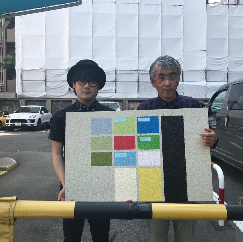 森田師匠とこれから描きます