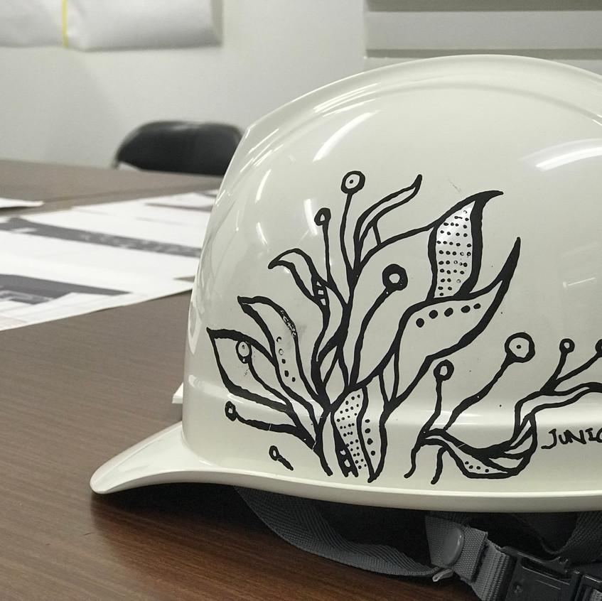 オリジナルヘルメット