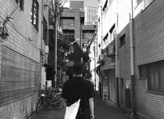 大阪、骨董通り