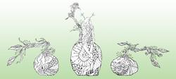 苔玉の妖精グリーン