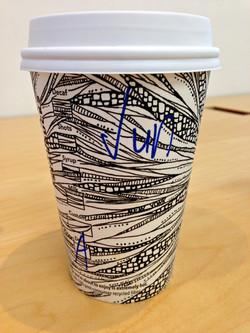 NYにてart cup.スタート