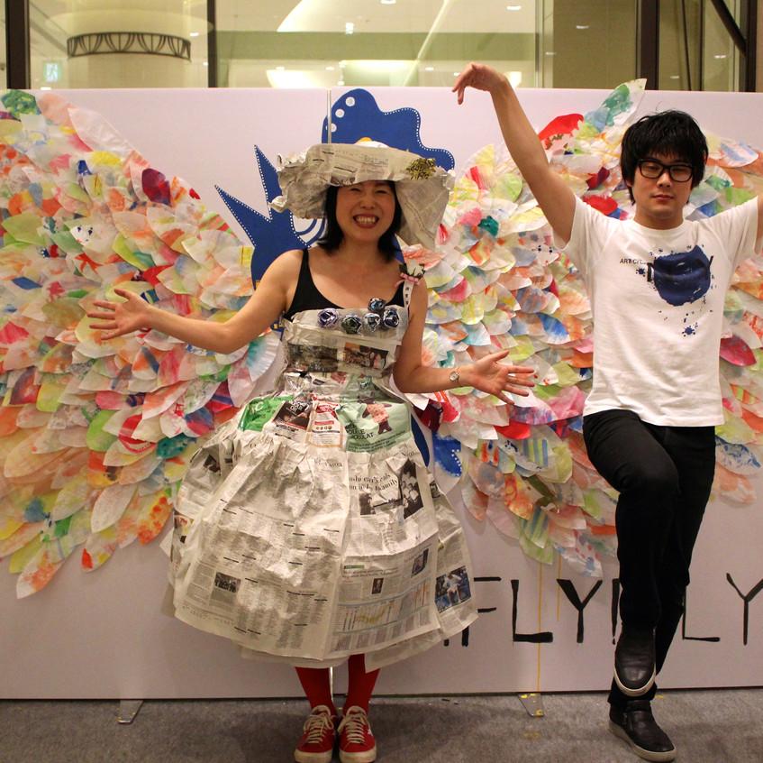 新聞女とJUNICHI