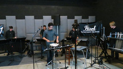 Akira Robles, Marching Percussion