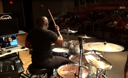 Chris Coleman, Drum Set