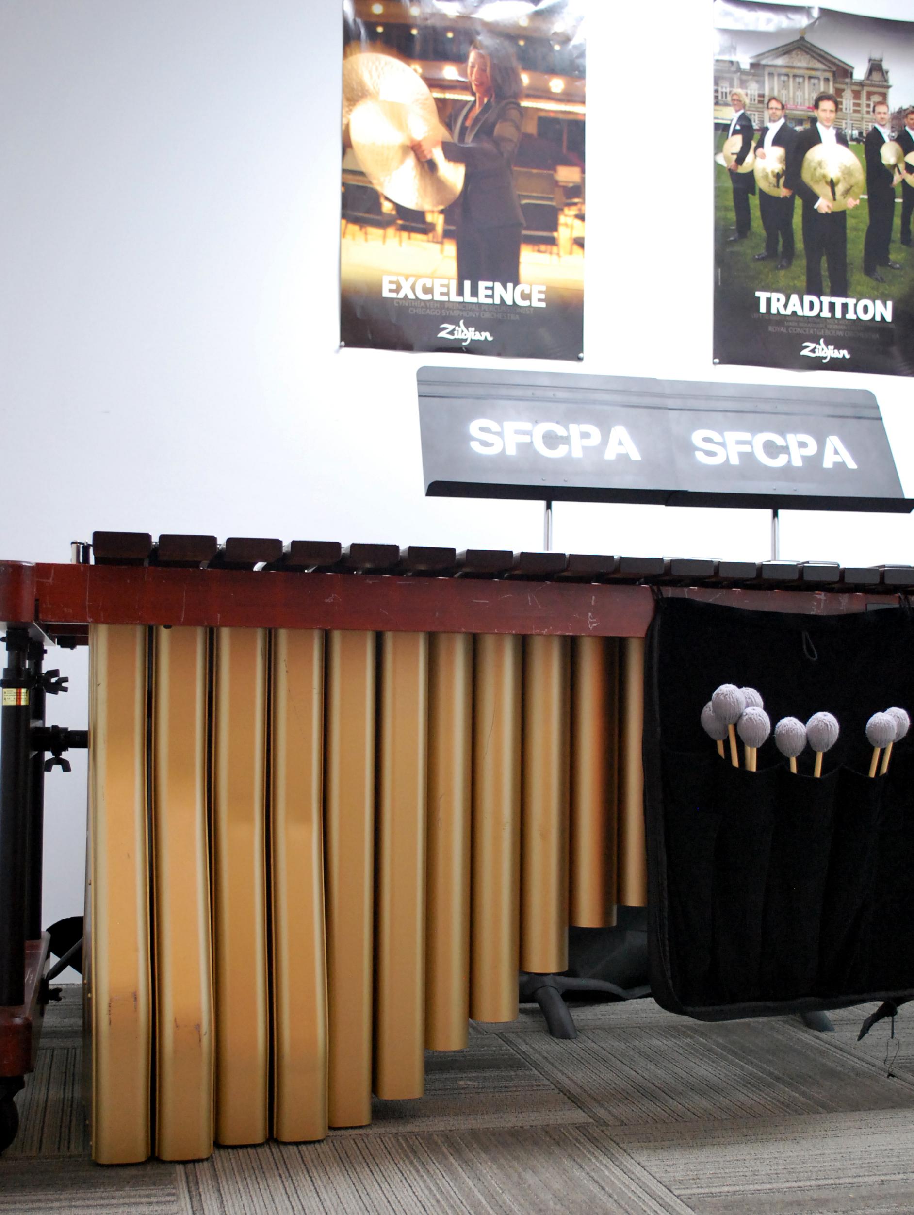 Marimba Practice Room