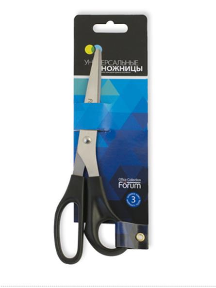Ножницы универсальные Office Devices, 205 мм, классические, ручки черного цвета